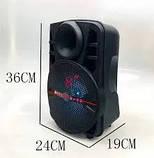 """ALP-801 8"""" Беспроводная портативная bluetooth колонка - чемодан с караоке, фото 3"""