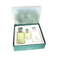Calvin Klein Eternity парфюмированная вода 100ml+парфюмированная вода 15ml+лосьон д/тела 200ml женский НАБОР