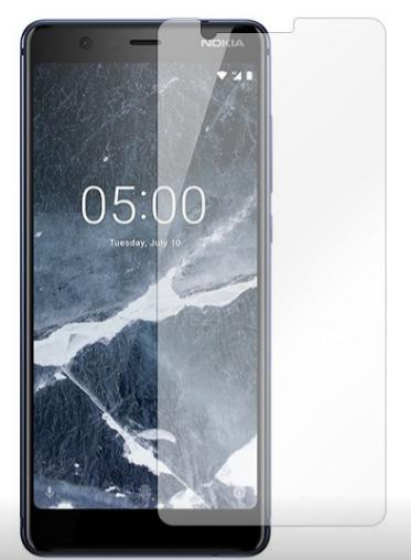 Гидрогелевая защитная пленка на Nokia 5.1 на весь экран прозрачная