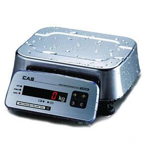 Весы фасовочные CAS FW 500 E 30 кг, фото 2