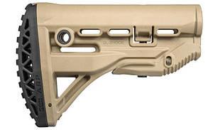 Затыльник на приклад   тактический прорезиненный FAB Defense   ARP