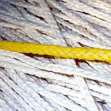 Провощенный фитиль свечной хлопковый косичка 3.0мм