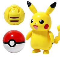 Оригінальний Покебол Pikachu Electric куля з фігуркою-трансформером Покемон Пікачу