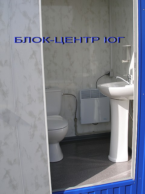 Биотуалет кабина стационарный ТПК-2  с конвектором