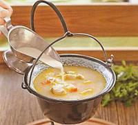 Котелок для супа с ножкой, 500мл