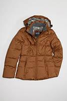 Пуховик Freever женский т. коричневый 705