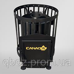 Печь для бани и сауны Canada Бочка 15 м.куб