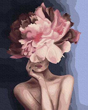 Картина по номерам 40х50 см Brushme Изящный цветок (GX 34806)