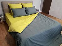 Комплект постельного белья Сатин Компаньон однотонный сдо07 Семейный, фото 1