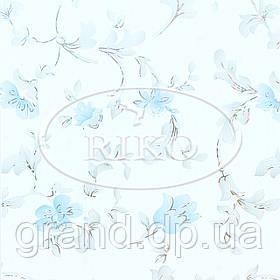 Пластиковые декоративные панели ПВХ Рико(Riko) 250*7*3000мм Азалия голубая с Термопереводом бесшовные