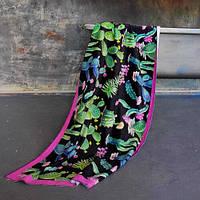 Пляжное полотенце с принтом Кактусы 150х70 см (PLB_21J024)