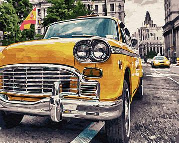 Картина по номерам 40х50 см Brushme Ретро на улицах Испании (GX 34022)