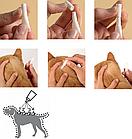 Капли от блох клещей и глистов для собак 4-10 кг Bayer Advocate (Адвокат) 3 шт/уп, фото 5