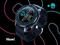 Умные наручные смарт часы Smart Watch JET-5 Sport Black c пульсоксиметром