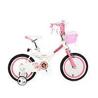 "Велосипед RoyalBaby JENNY GIRLS 16 "", OFFICIAL UA, білий"