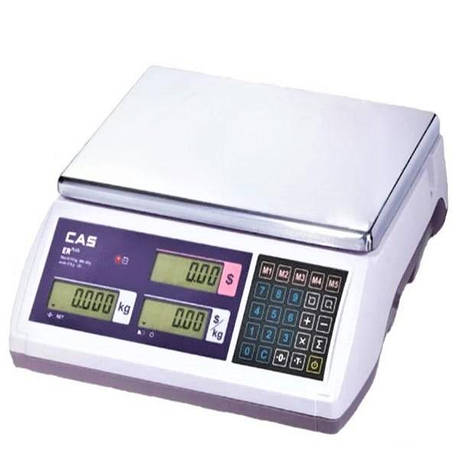 Ваги торгові CAS-ER-Plus E (6 кг), фото 2