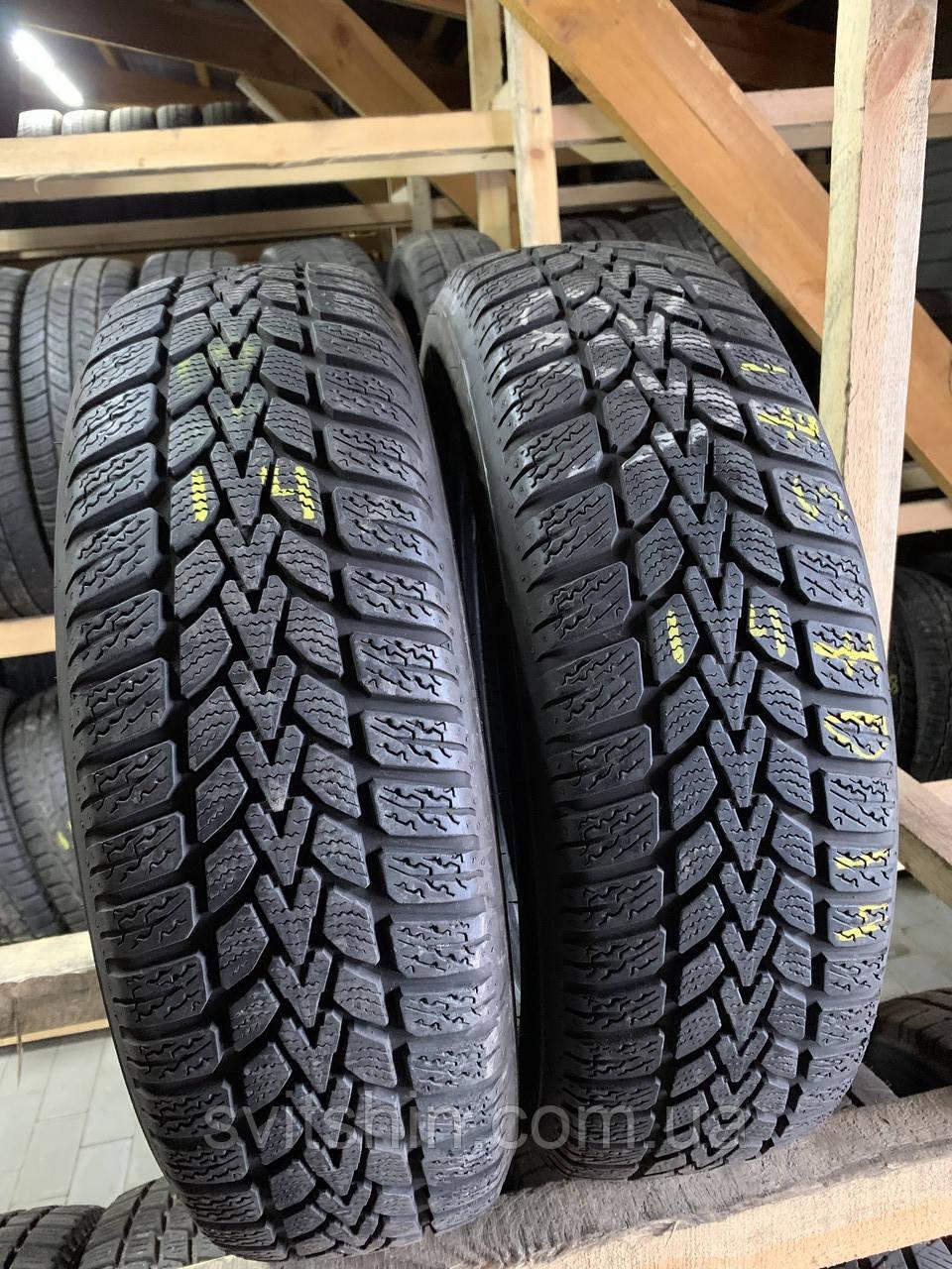 Зимова пара 175/70R14 Dunlop Winter Response-2 (6мм)