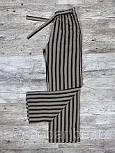 Жіночі літні брюки, капрі смугасті