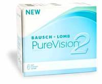Контактные линзы ежемесячной замены  Pure Vision 2
