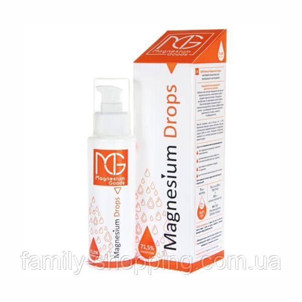 Магниевый концентрат для внутреннего применения Magnesium Drops, 100 мл