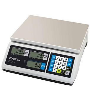 Весы торговые CAS-ER-JR-CB (6 кг), фото 2