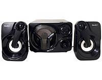 Колонки, акустика для комп'ютера Music D.J. SP-60 LED-підсвітка, USB, чорні