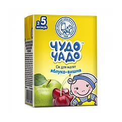 Сік Чудо Чадо Яблуко-Вишня, 5+, 200мл