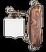 Бра деревянная в стиле лофт на 1 плафон 670311, фото 3
