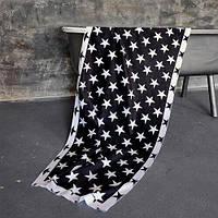 Пляжное полотенце с принтом Звезды 150х70 см (PLB_21J008)