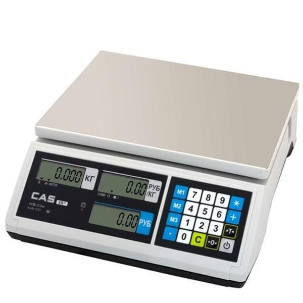 Ваги торгові CAS-ER-JR-CBU (6 кг)
