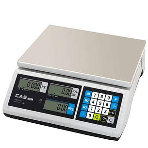 Ваги торгові CAS-ER-JR-CBU (6 кг), фото 2