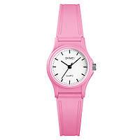 Детские кварцевые часы Skmei 1401 светло розовые