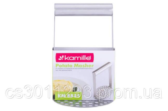 Картофелемялка Kamille - 180 x 86 мм, фото 2