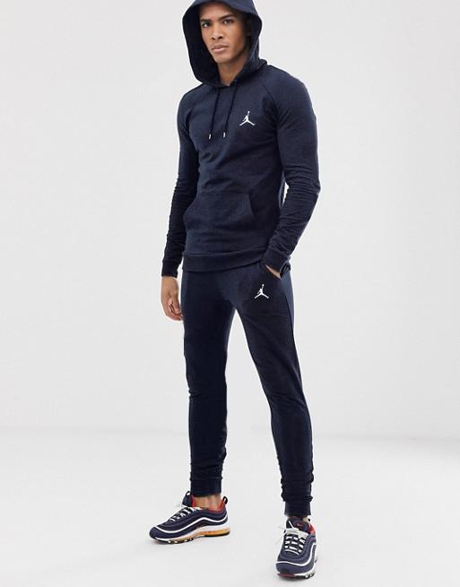 Спортивный мужской костюм Jordan (Джордан) синий