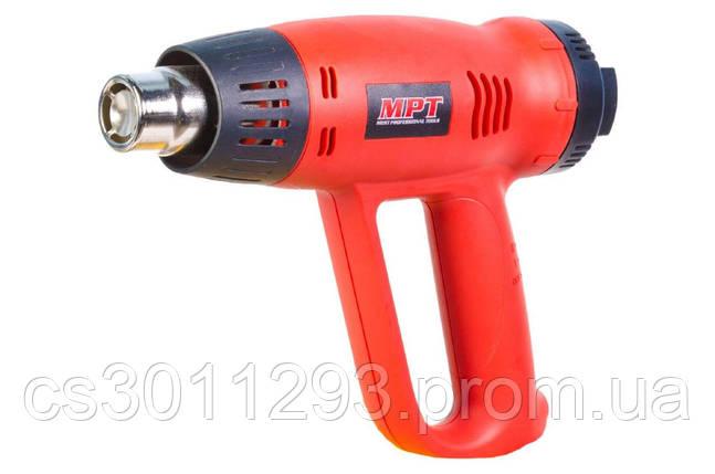 Фен промышленный MPT - 2000 Вт x 630°C 1 шт., фото 2