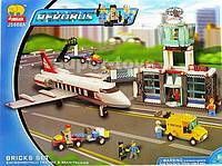 Конструктор JUBILUX J 5668 А аэропорт, самолет