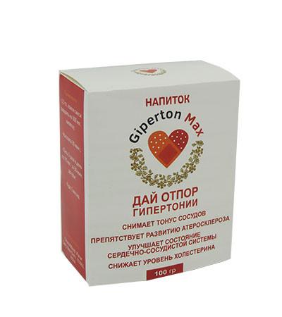 Giperton Max - Напій від гіпертонії (Гипертон Макс)