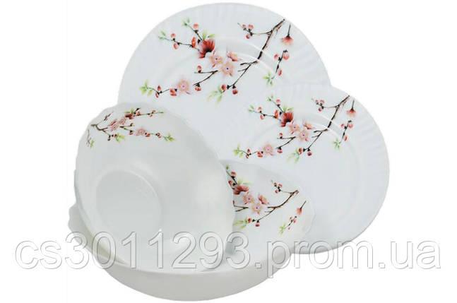 "Набор посуды жар-стекло Maestro - 19 ед. ""сакура"" MR-30067-19S, фото 2"