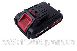 Акумулятор для шуруповерта Intertool - 18В x 2,0 Ач Storm (WT-0313/0314/0317) 1 шт.