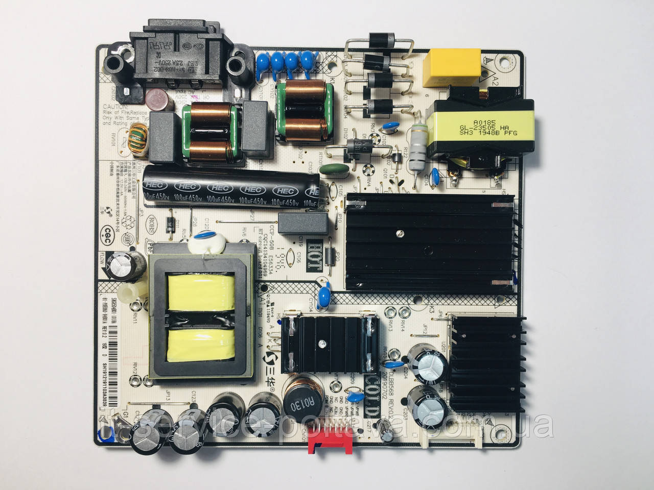 Блок живлення DLBB568 REV:0.2 CCP-508