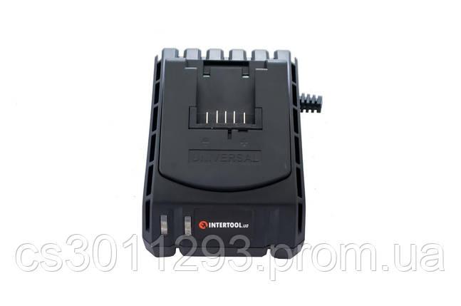 Зарядний пристрій для шуруповерта Intertool - 18 Li-ion до WT-0328/0331 1 шт., фото 2