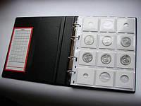 Альбом для монет в холдерах 120 ячеек SCHULZ