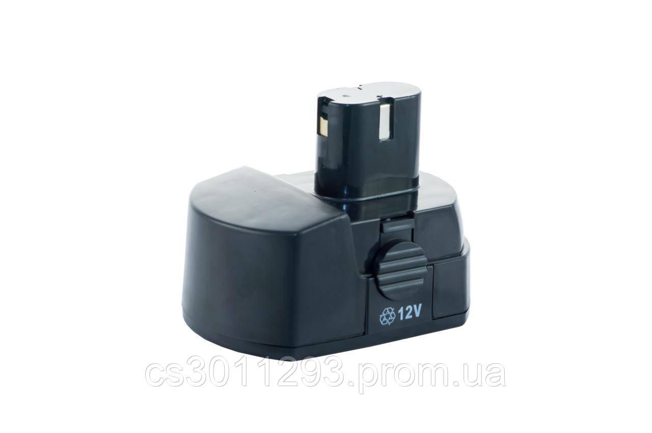 Аккумулятор для шуруповерта Асеса - 12В Ni-Cd каблук 2 контакта