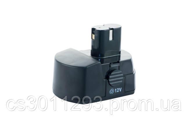 Аккумулятор для шуруповерта Асеса - 12В Ni-Cd каблук 2 контакта, фото 2