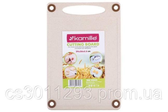 Дошка обробна Kamille - 290 x 200 x 8 мм пшеничне волокно, фото 2