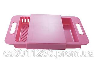 Дошка обробна c кошиком PRC Outdoor Chopping Board - 366 x 245 x 50 мм, фото 2