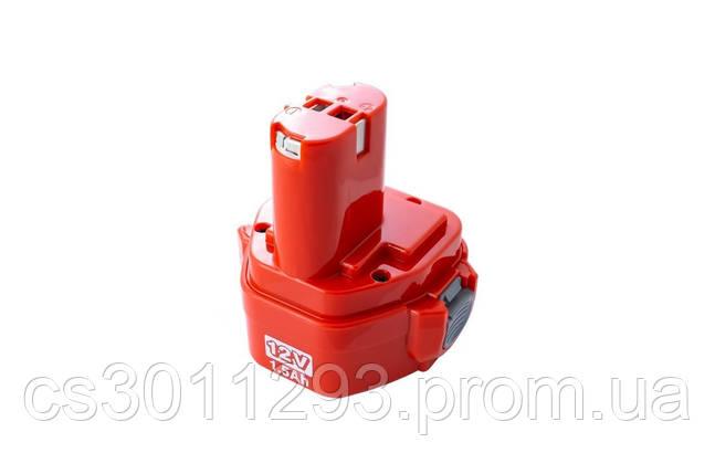 Аккумулятор для шуруповерта Асеса - Makita 12В x 1,5Ач Ni-Cd, фото 2