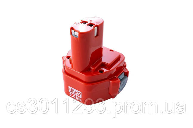Аккумулятор для шуруповерта Асеса - Makita 12В x 2,0Ач Ni-Cd, фото 2