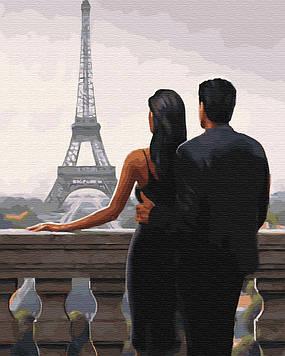 Картина по номерам 40х50 см Brushme Желанный Париж (GX 30669)