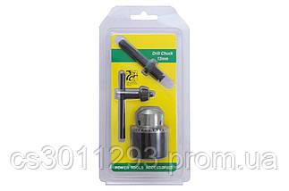 """Патрон для дрилі з ключем Асеса - 1/2"""" x 20 (1,5-13 мм) з перехідником SDS+ 1 шт., фото 3"""